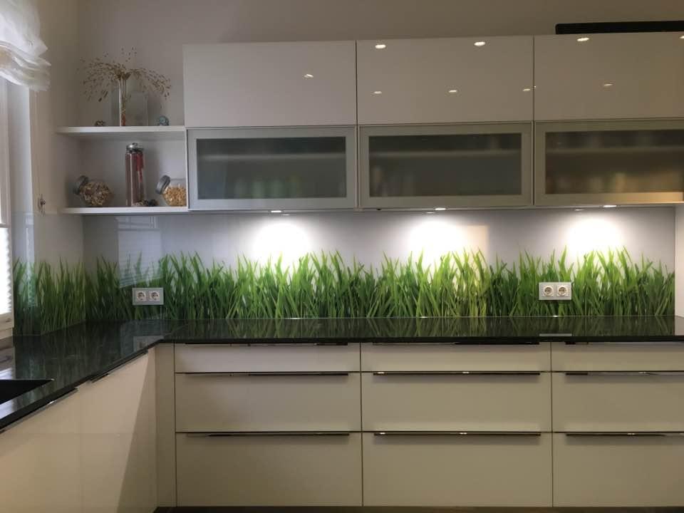 LED Glas HIntergrundbeleuchtung Küche Deltaglas Glaserei 1030 Wien