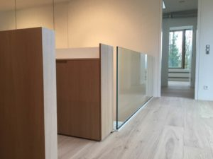 Raumteiler Glas Deltaglas Glaserei Wien 1030